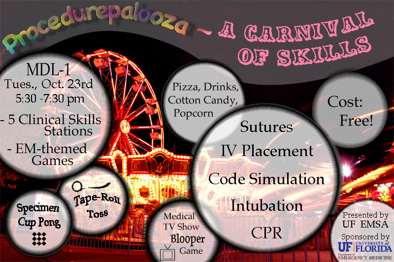 Procedurepalooza – EM Skills Carnival » Medical College Council